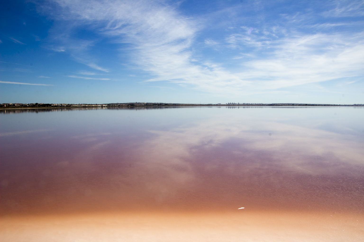 The Red Lake of Torrevieja