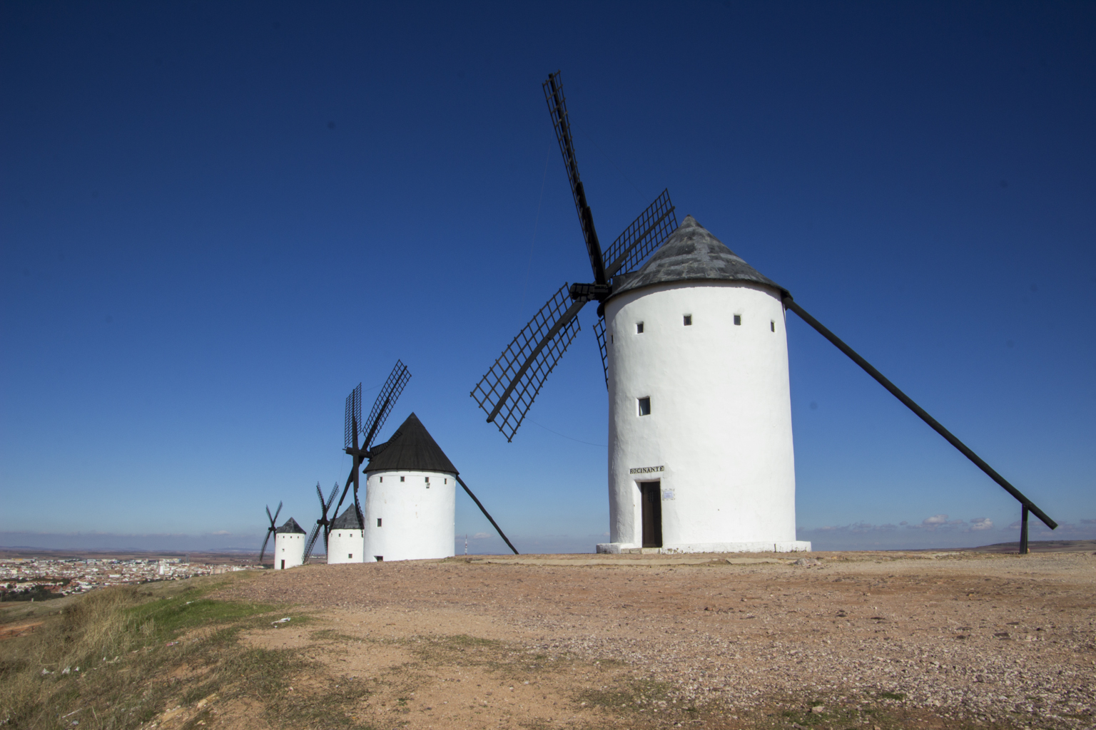Don Quixote's Windmills