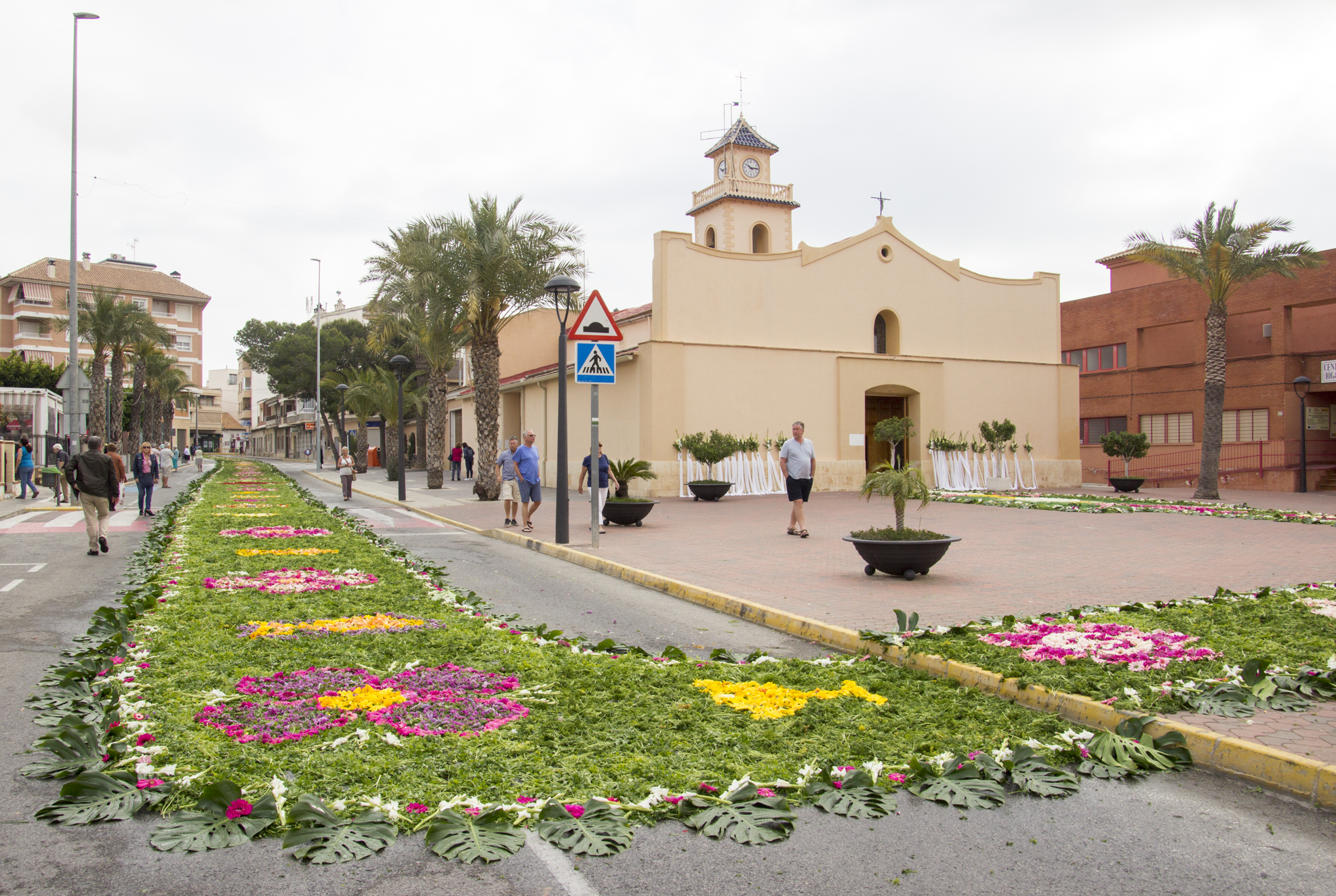 Los Montesinos Easter Flower Carpet
