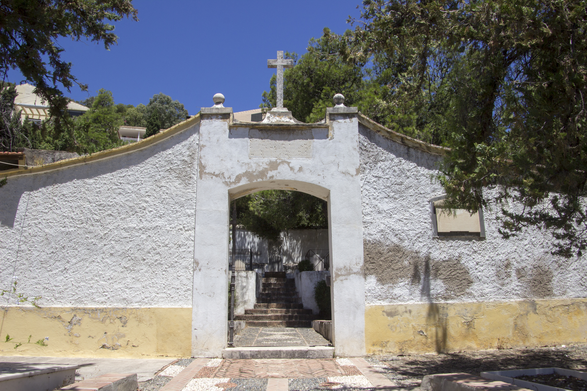 The English Cemetery in Malaga