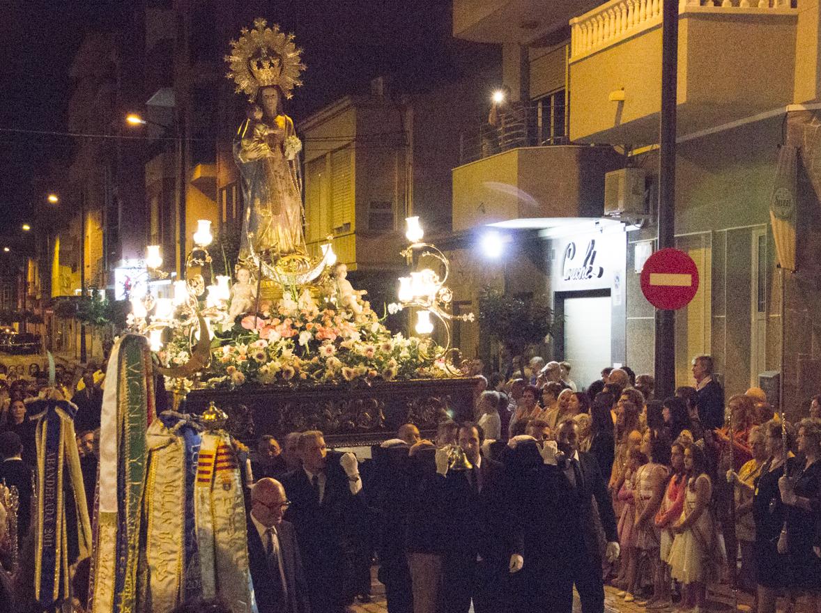 La Virgen de Rosario