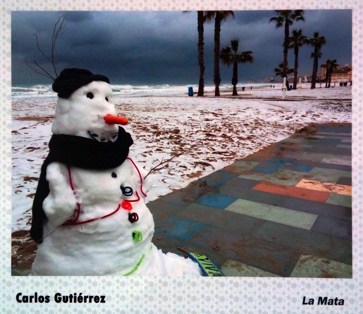 Snow on the Costa Blanca beaches
