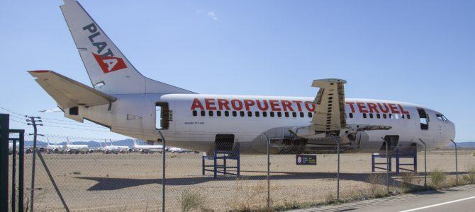 Teruel's passenger-free airport